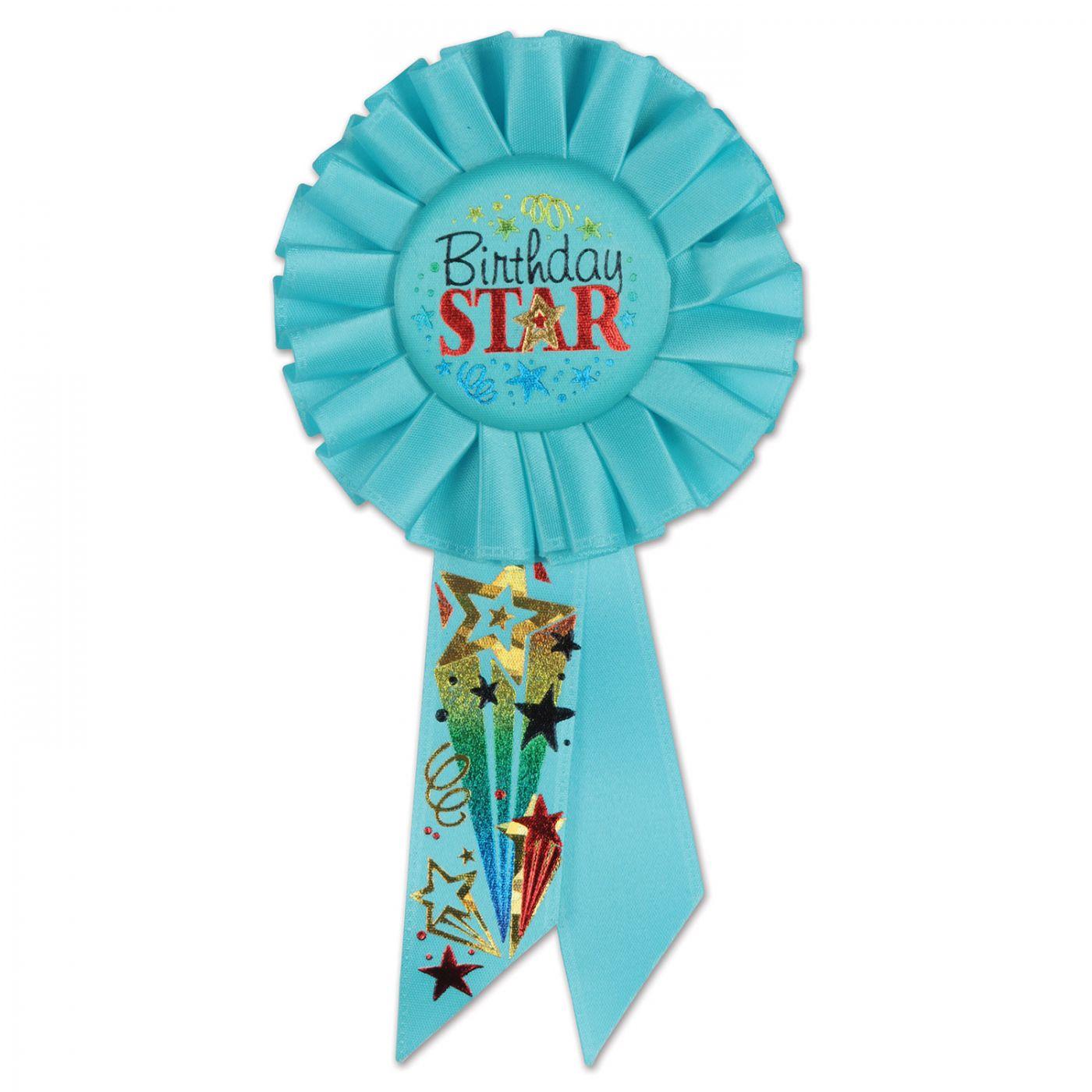Image of Birthday Star Rosette (6)