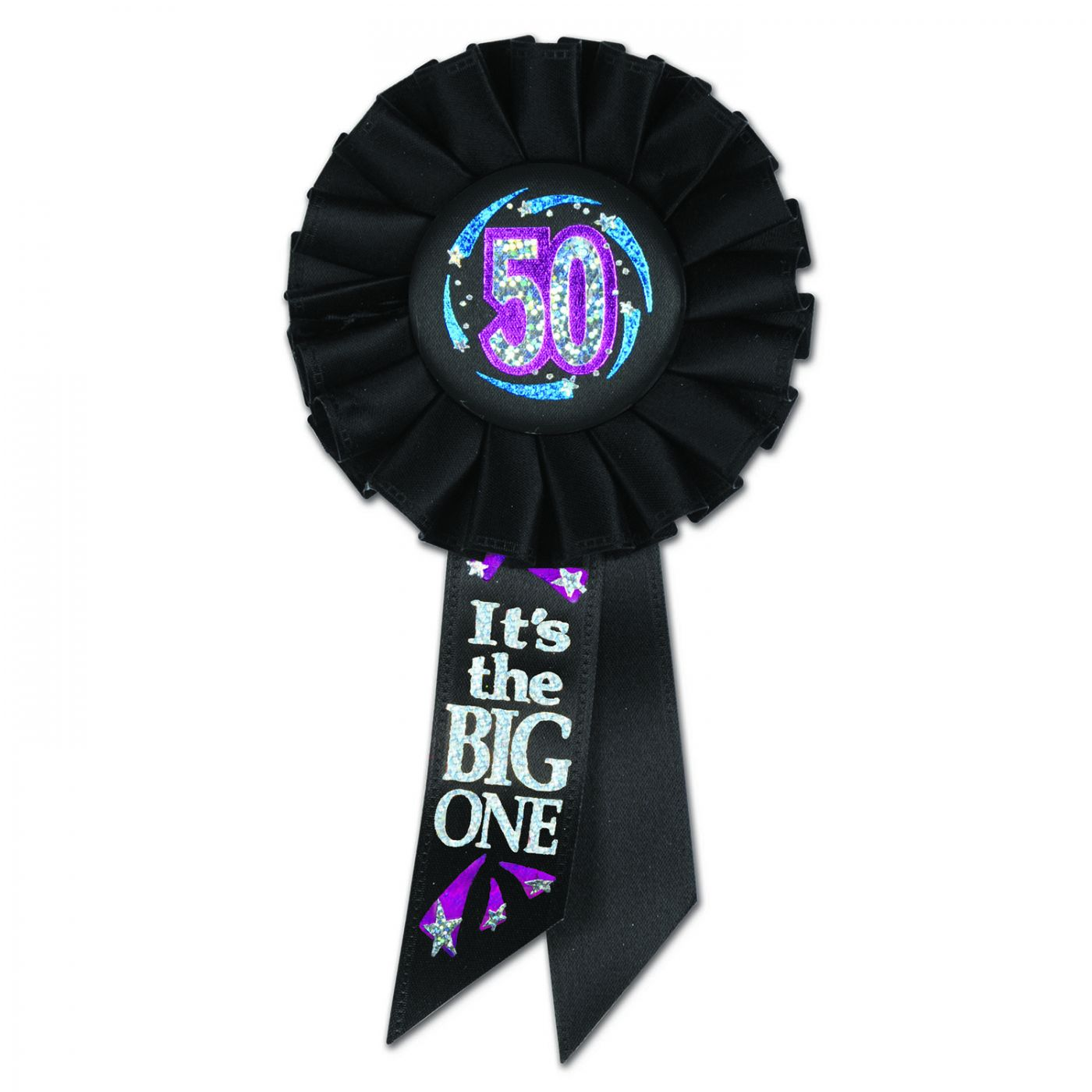 Image of 50 It's The Big One Rosette (6)