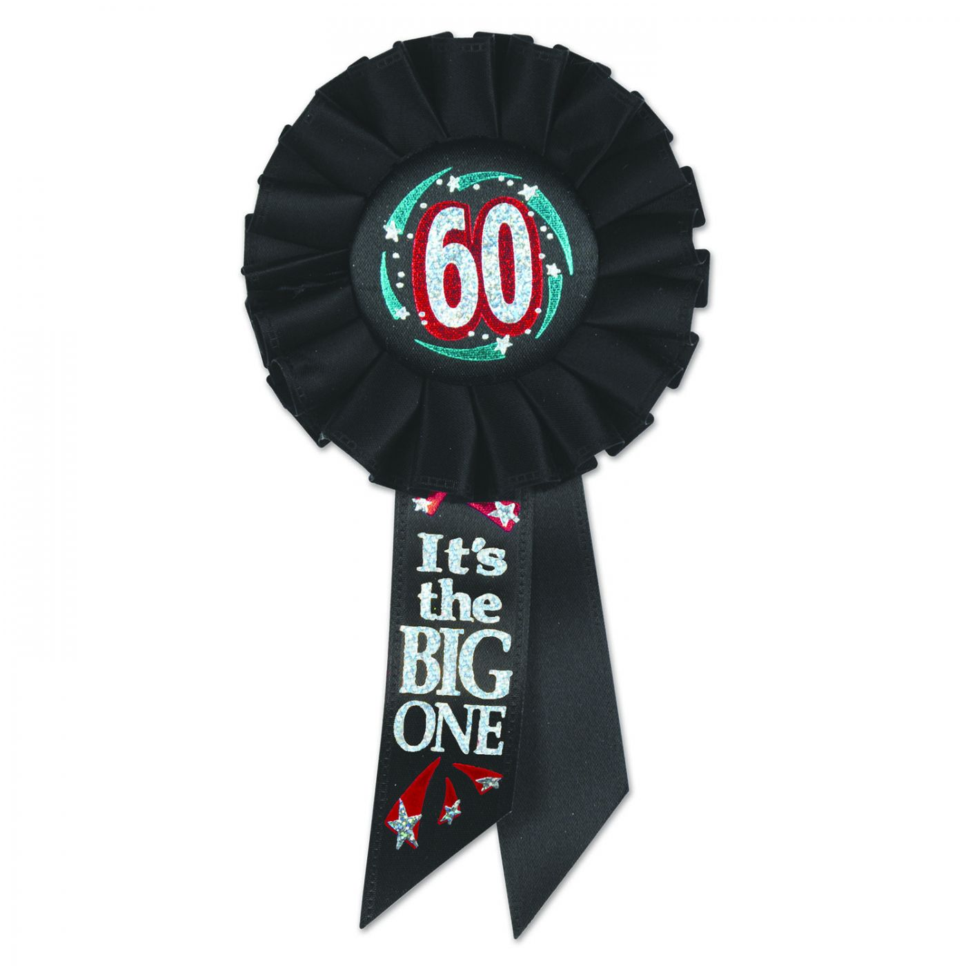 Image of 60 It's The Big One Rosette (6)