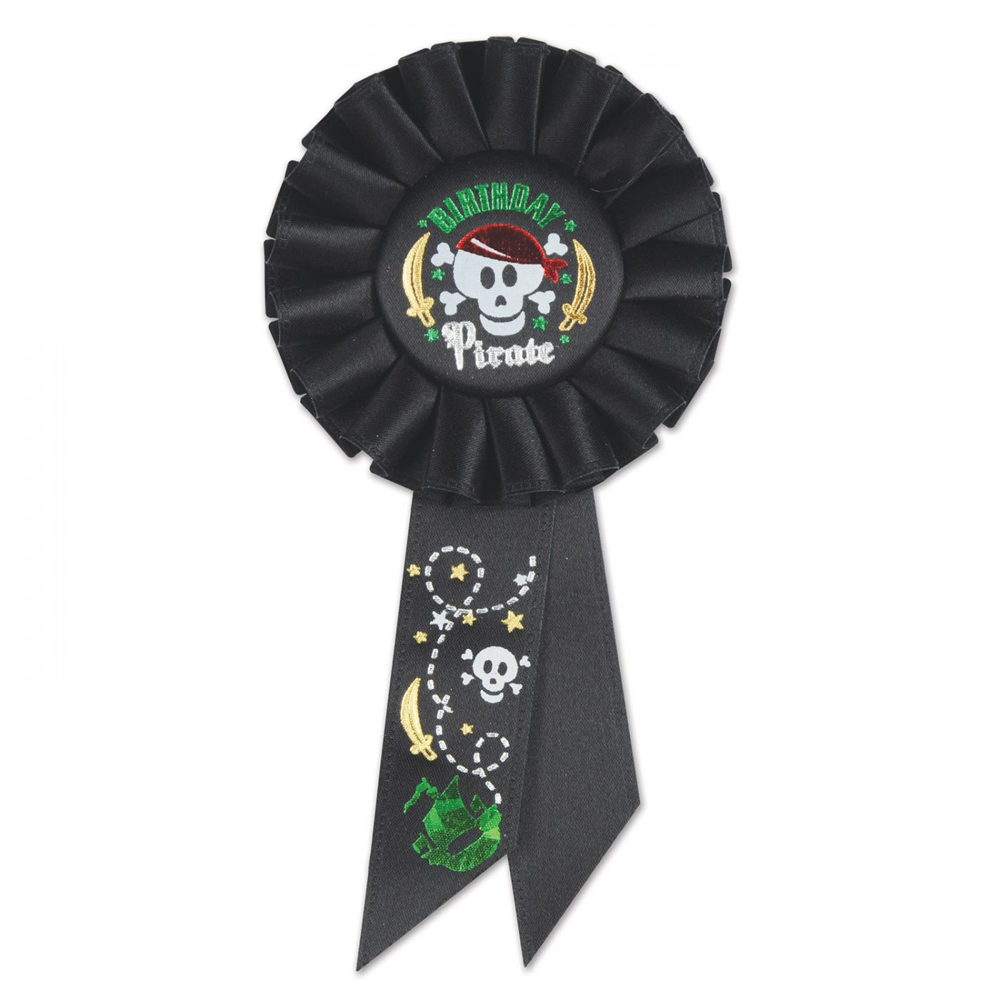 Image of Birthday Pirate Rosette (6)
