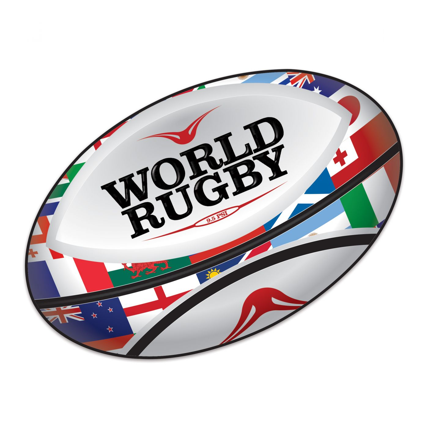 Rugby Ball Cutout image
