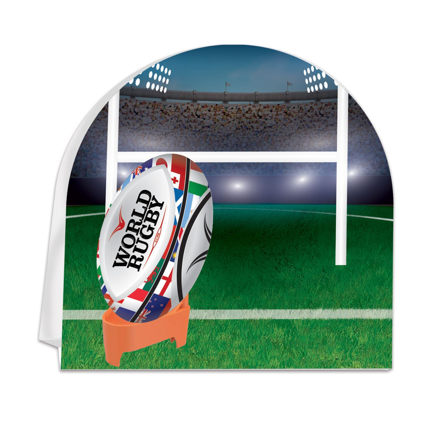 Image of Rugby 3D Centerpiece
