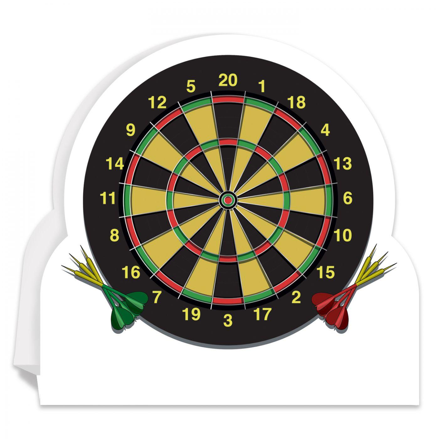 Dartboard 3D Centerpiece image