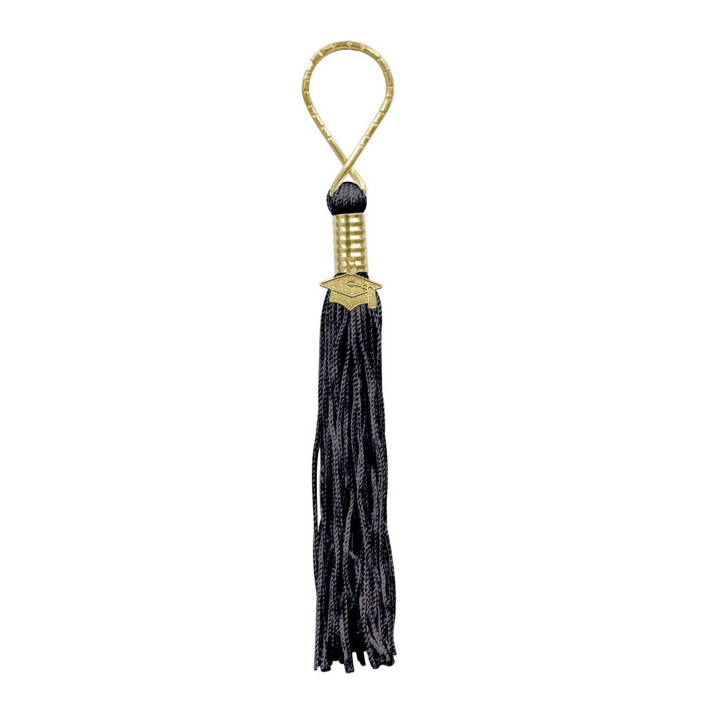 Black Tassel Keychain (6) image