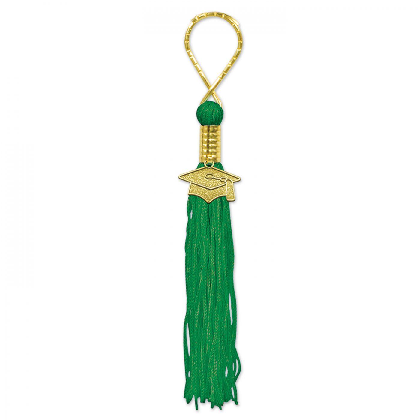 Green Tassel Keychain (6) image