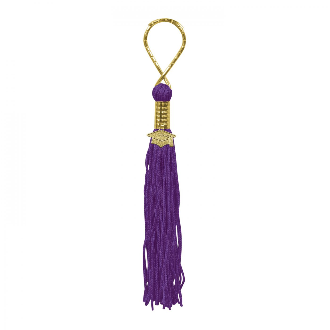 Purple Tassel Keychain (6) image