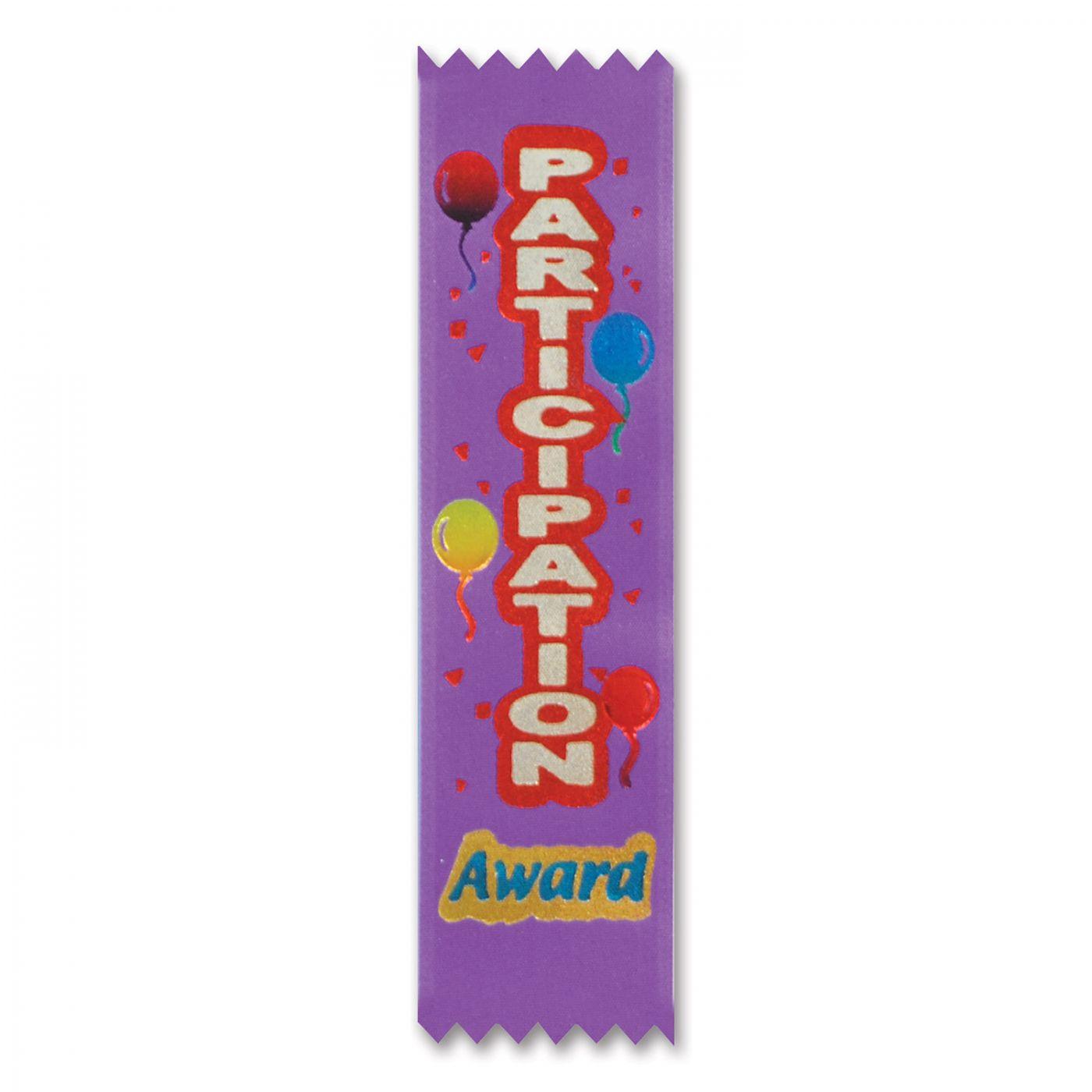 Participation Award Value Pack Ribbons (3) image