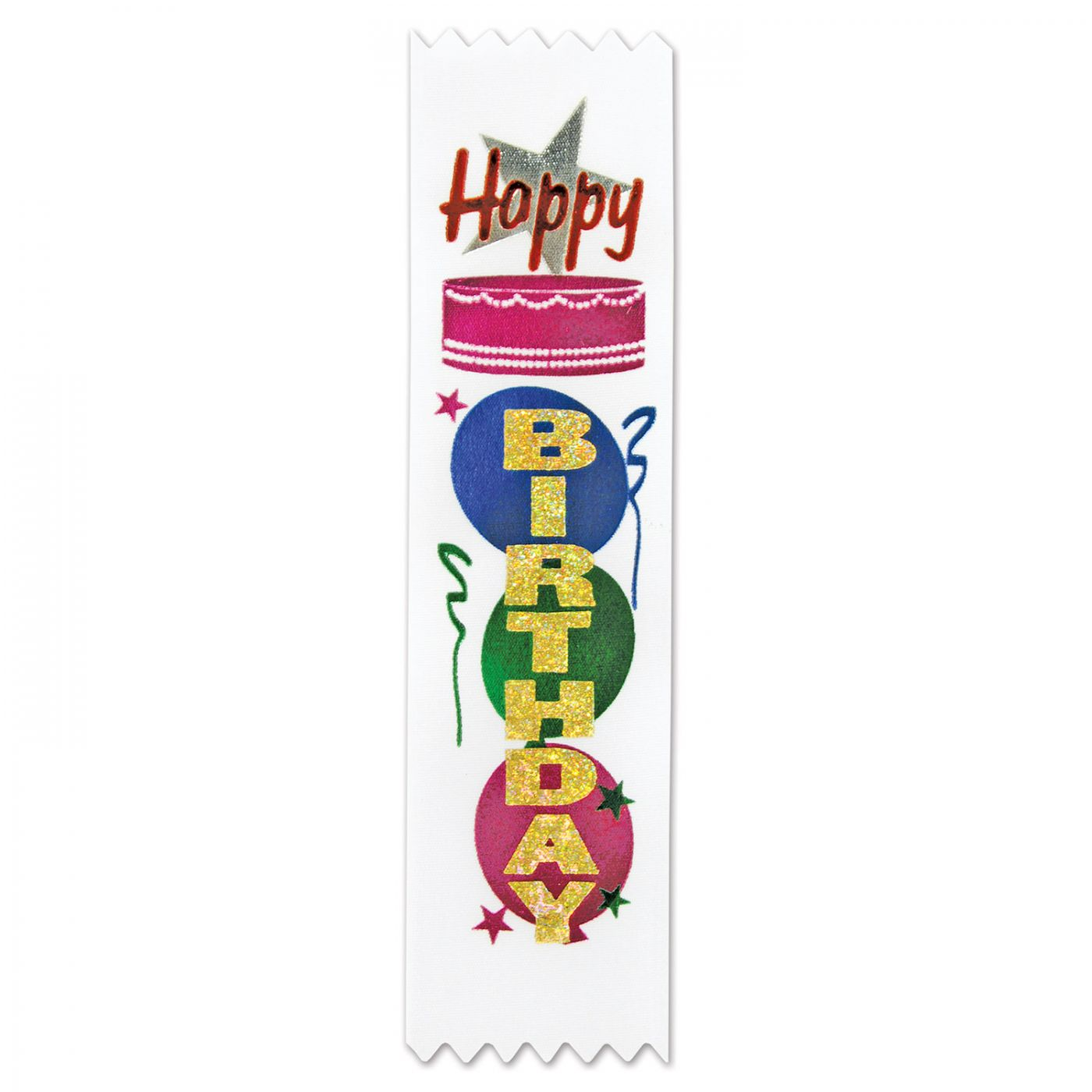 Happy Birthday Value Pack Ribbons (3) image