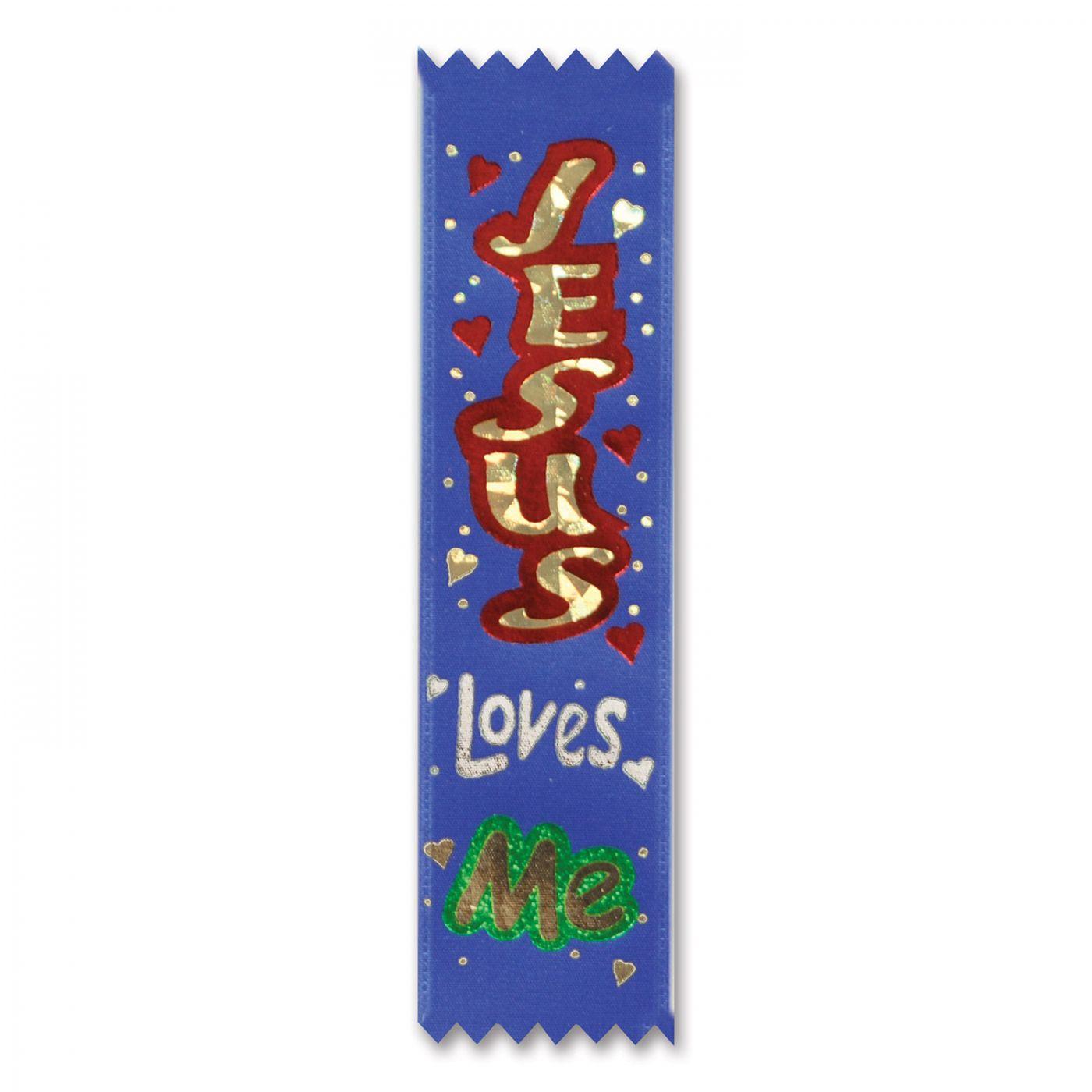 Jesus Loves Me Value Pack Ribbons (3) image