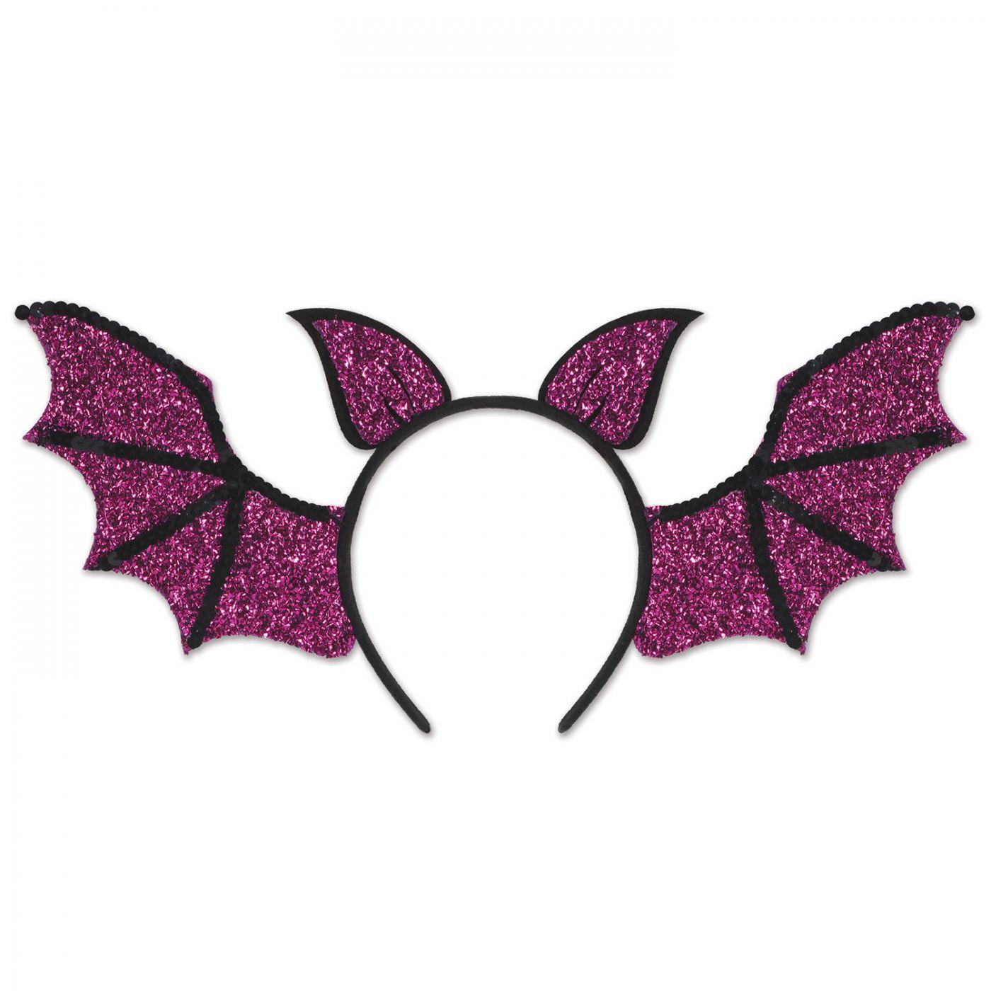 Sequined Bat Wings Headband image
