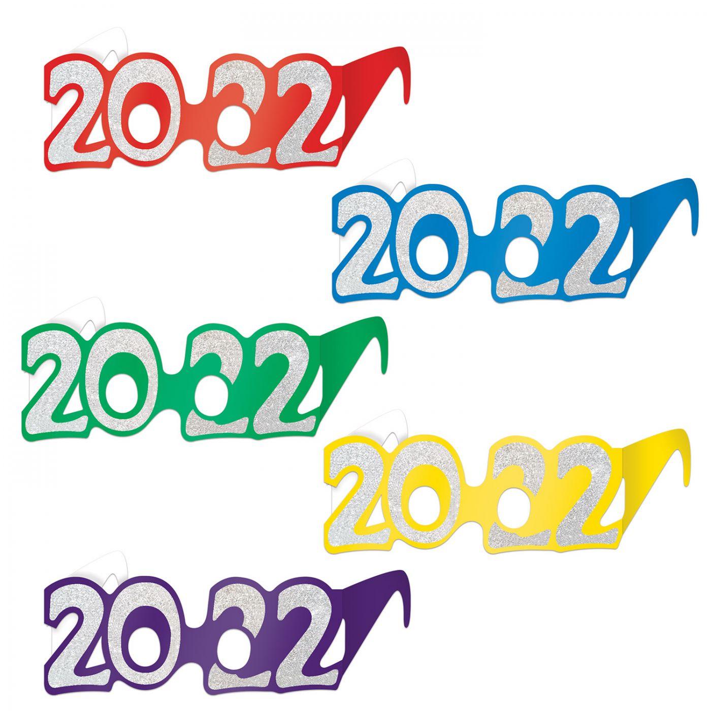 2022  Glittered Foil Eyeglasses image