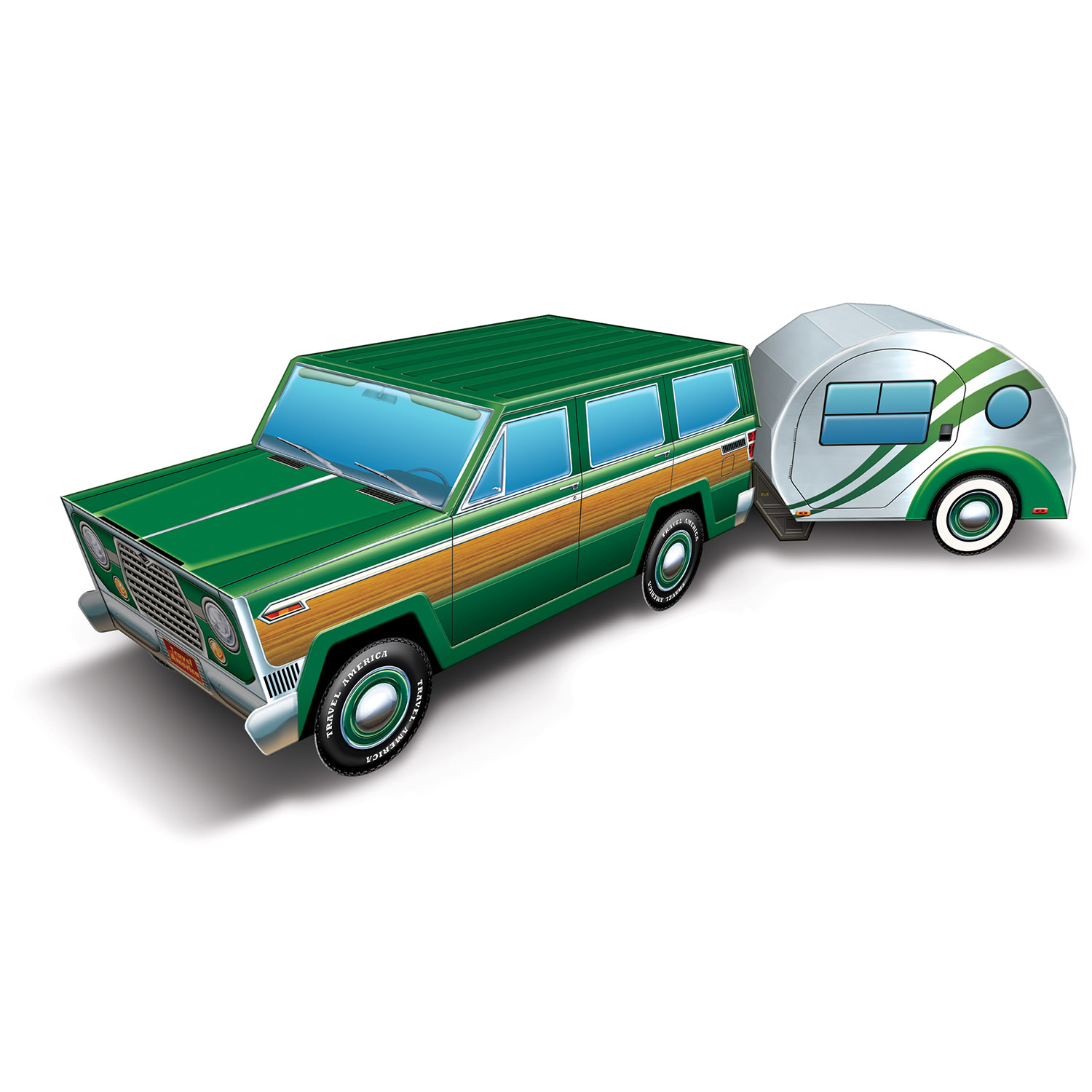 Image of 3-D TRAVEL AMERICA ROAD TRIP CENTERPIECE (12)