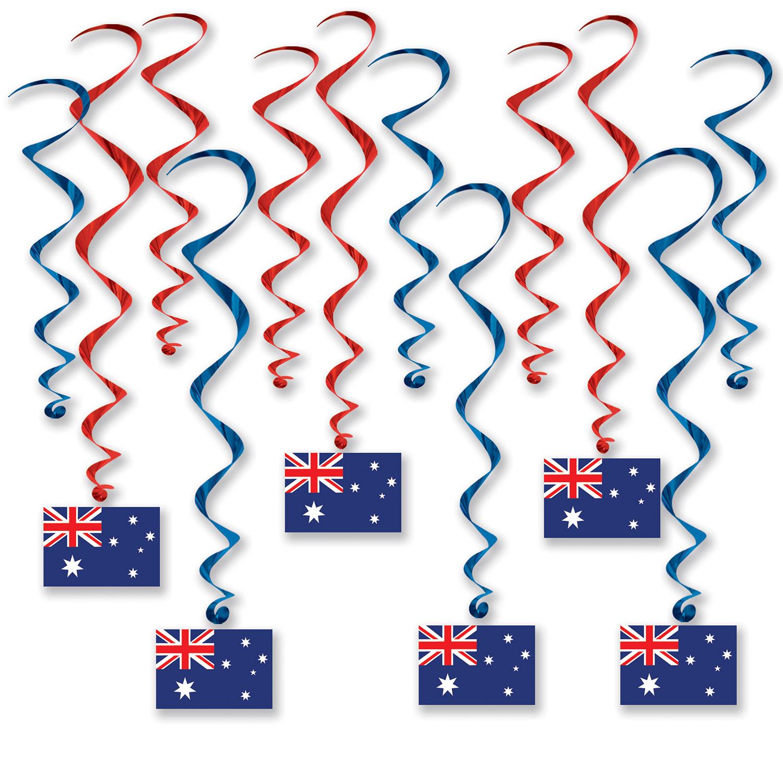 Image of AUSTRALIAN FLAG WHIRLS (6)