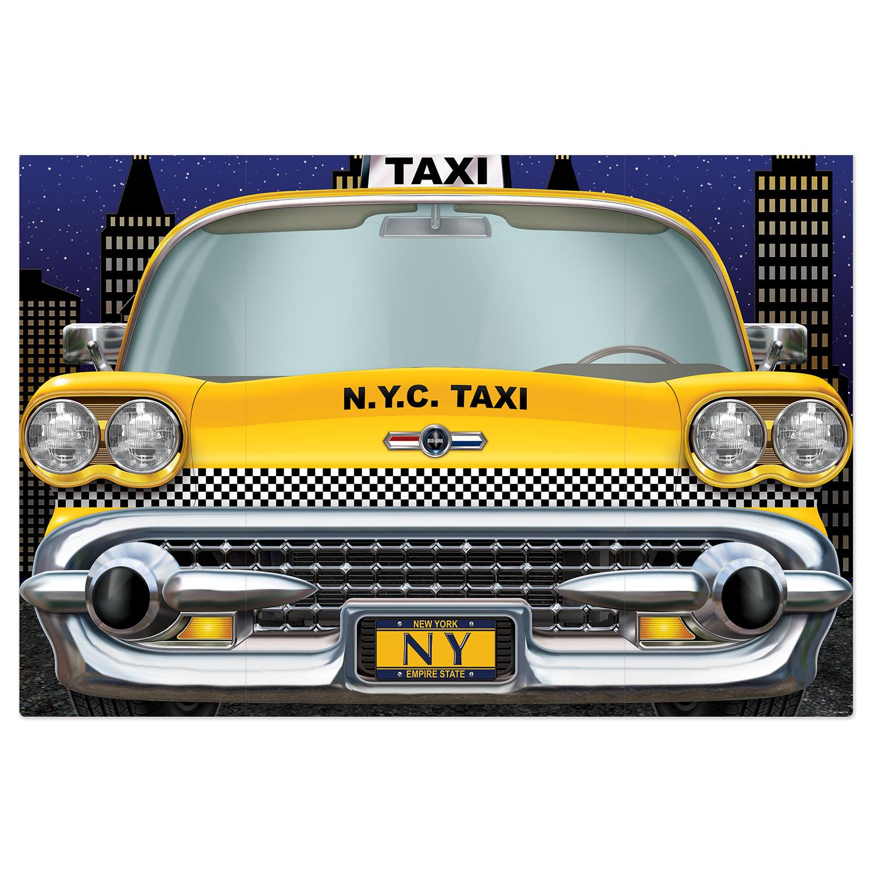 NEW YORK CITY TAXI PHOTO PROP (6) image