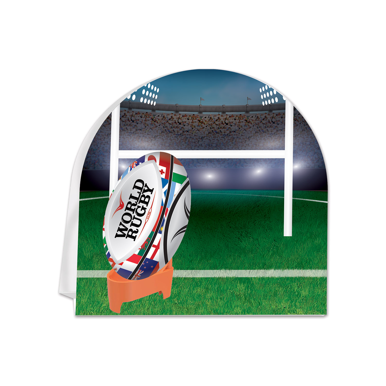 Image of 3-D RUGBY CENTERPIECE (12)