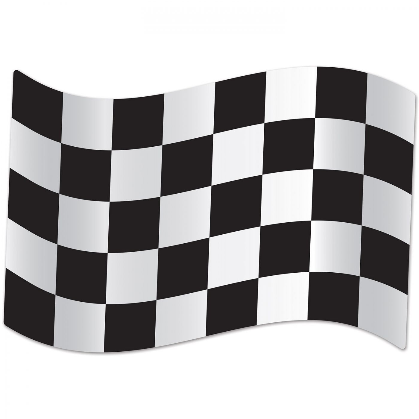 Jumbo Checkered Flag Cutouts image