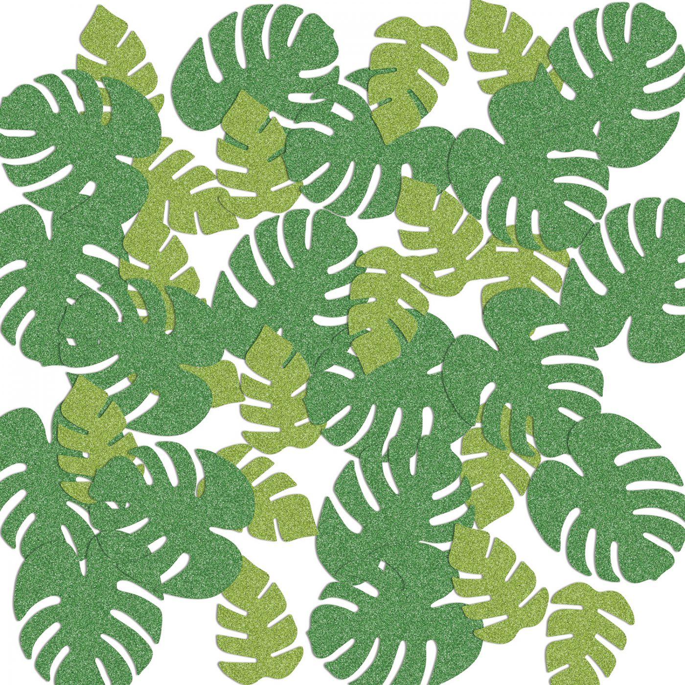 Tropical Palm Leaf Del Sparkle Confetti image