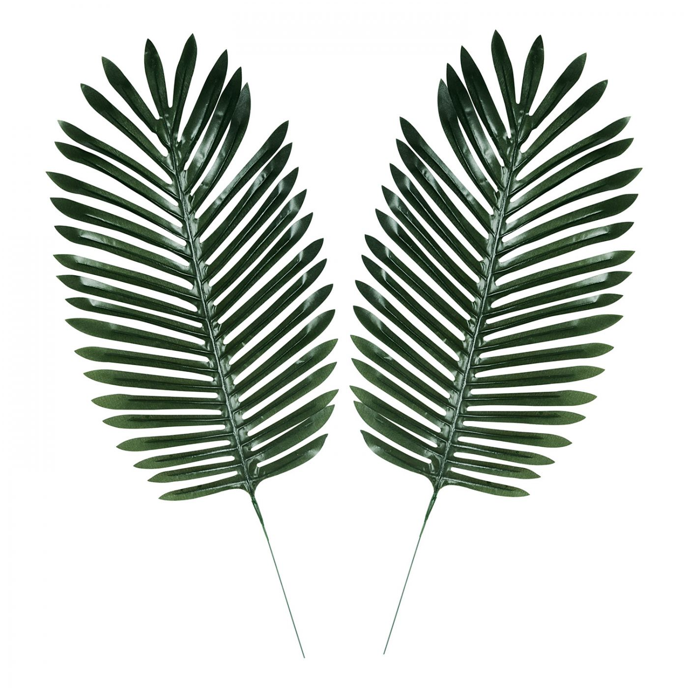 Fabric Fern Palm Leaves image