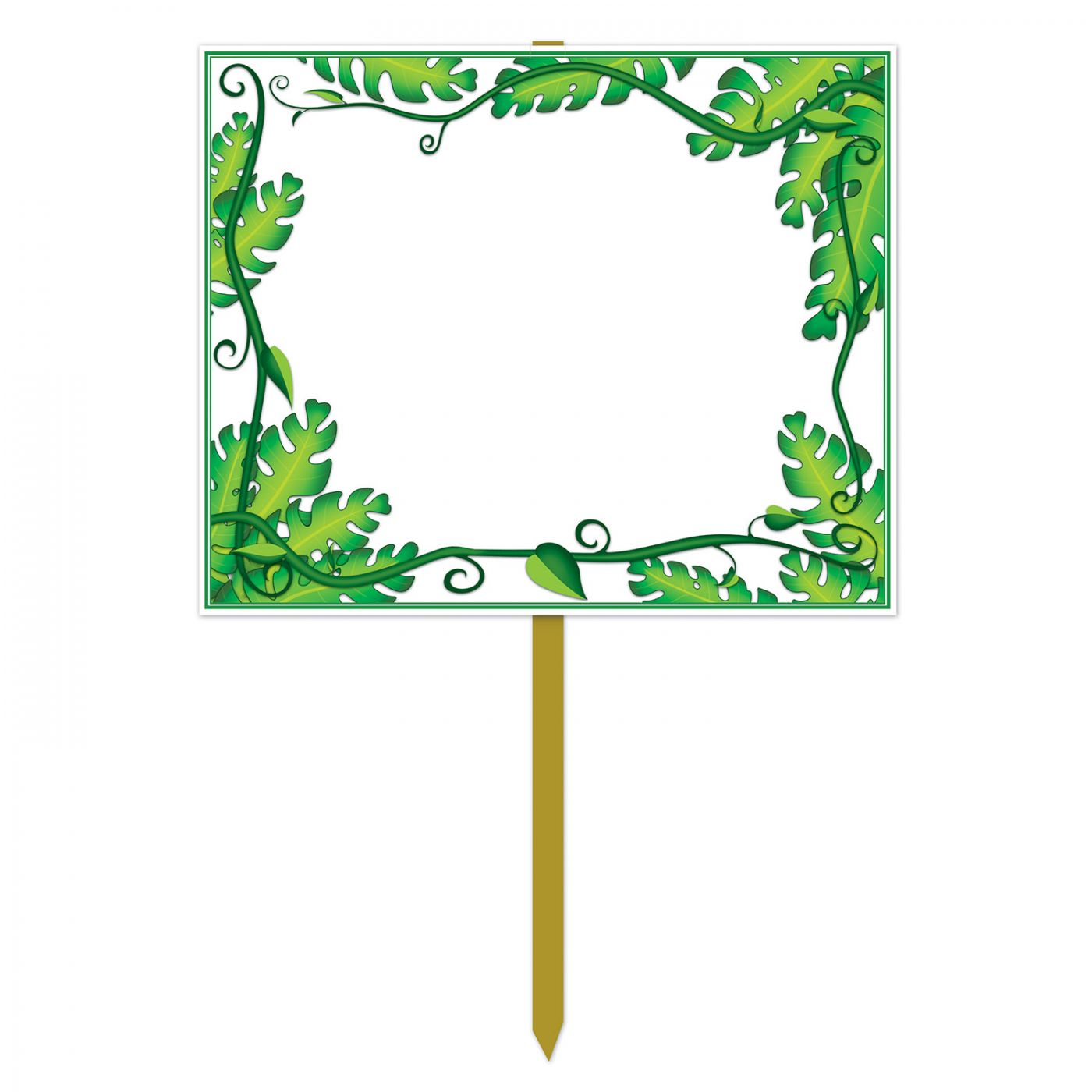 Blank  Jungle Yard Sign image