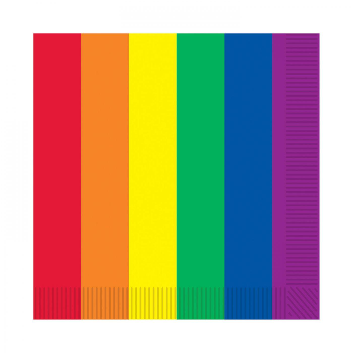 Rainbow Luncheon Napkins image