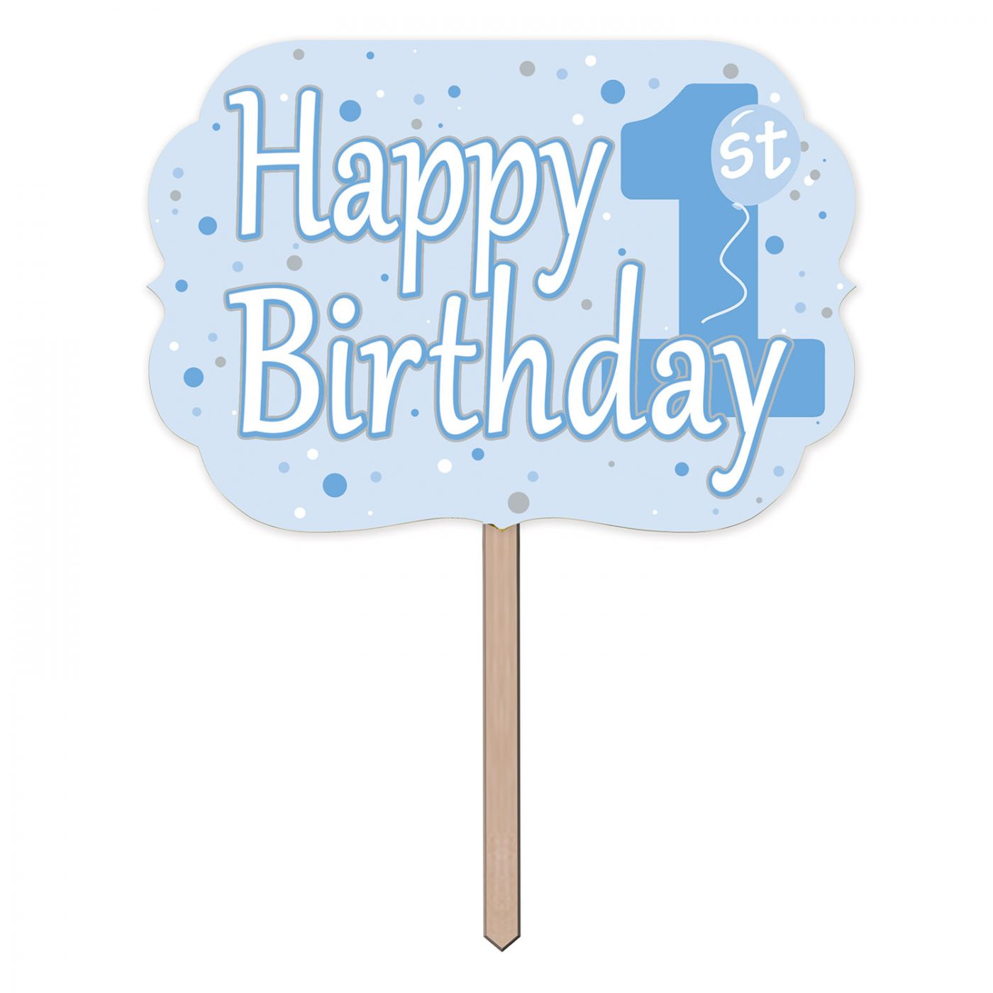 1st Birthday Yard Sign image