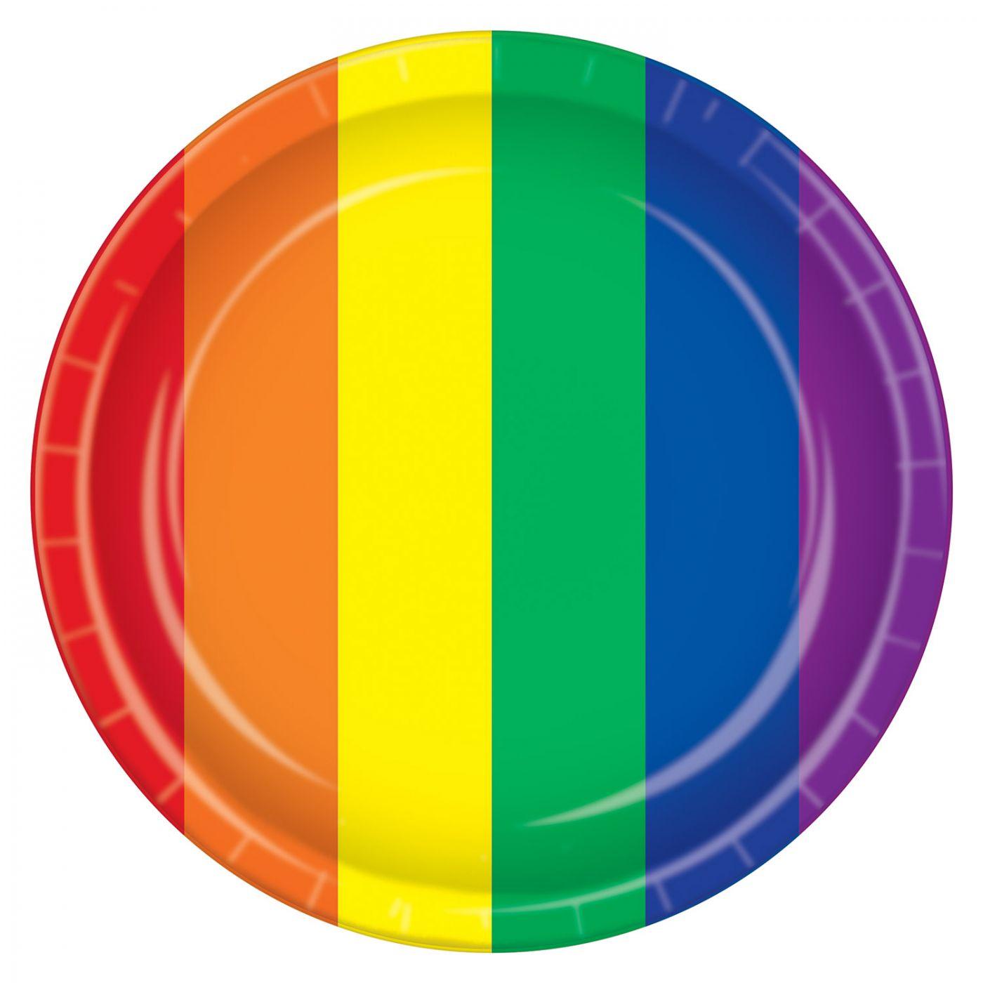 Rainbow Plates image