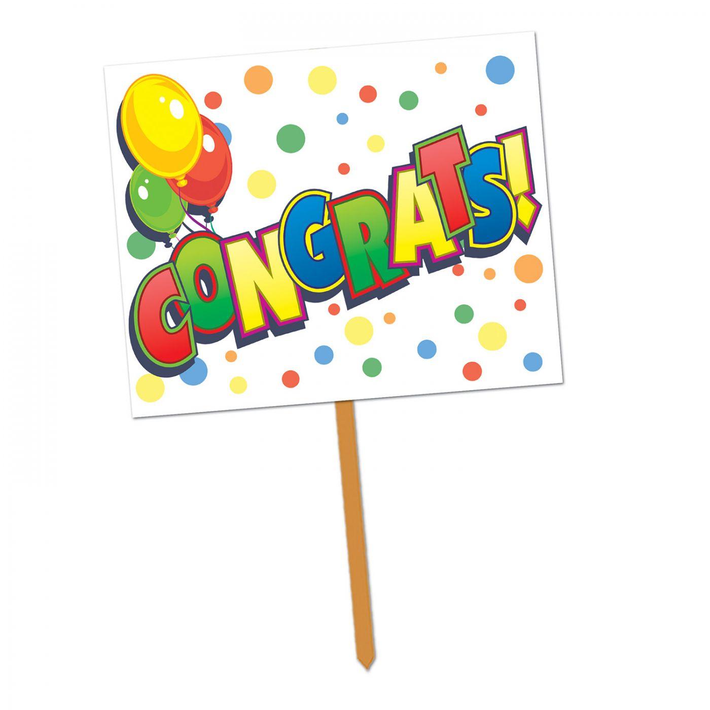 Congrats! Yard Sign image