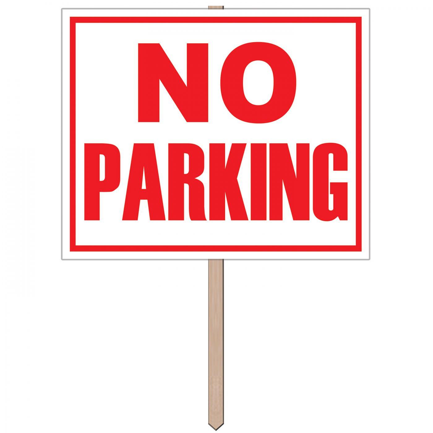 No Parking Yard Sign image