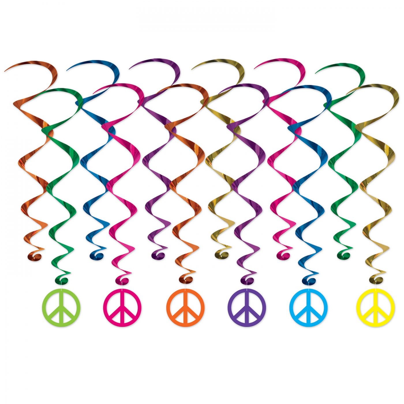 Peace Sign Whirls image