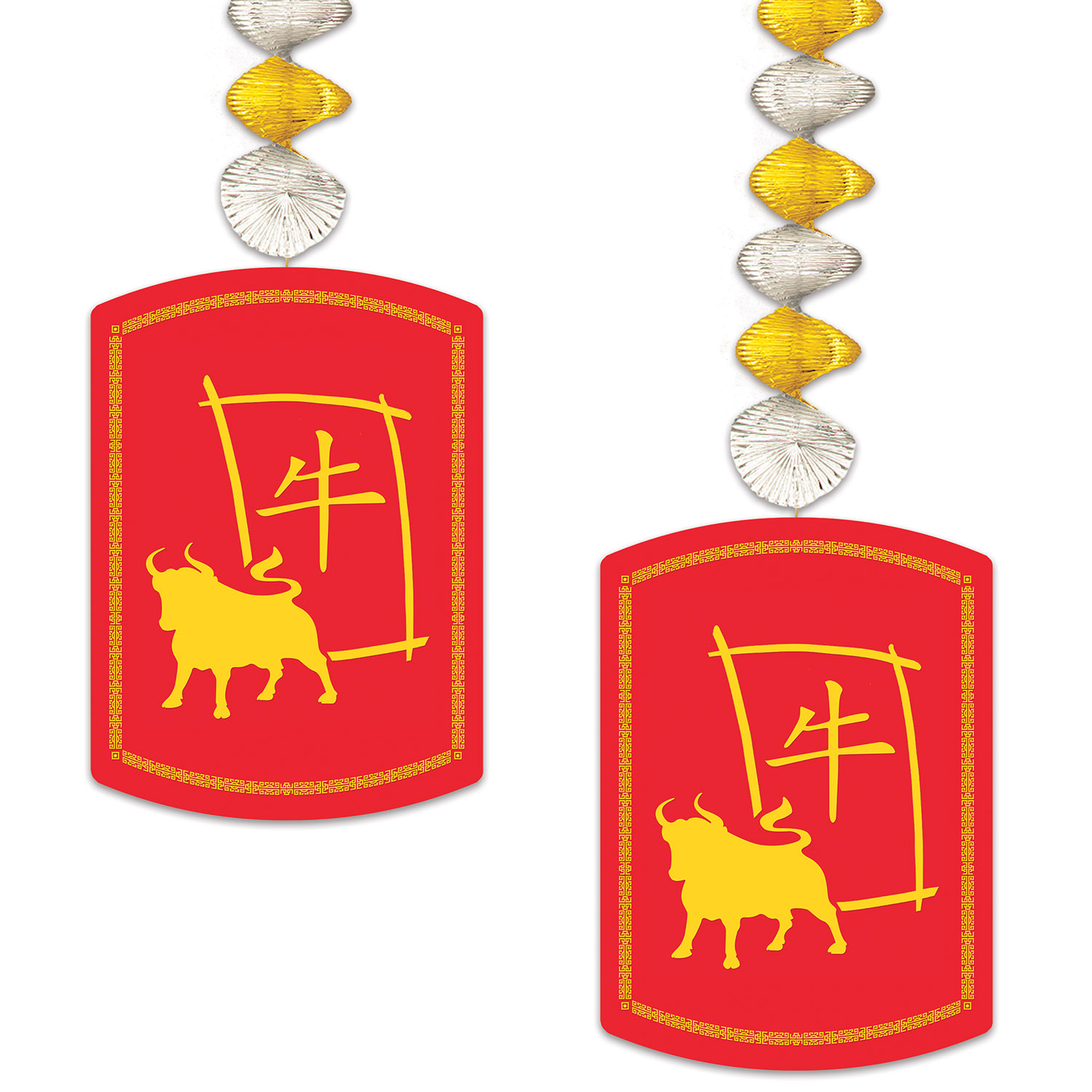 Image of 2021 YEAR OF THE OX DANGLERS (12)