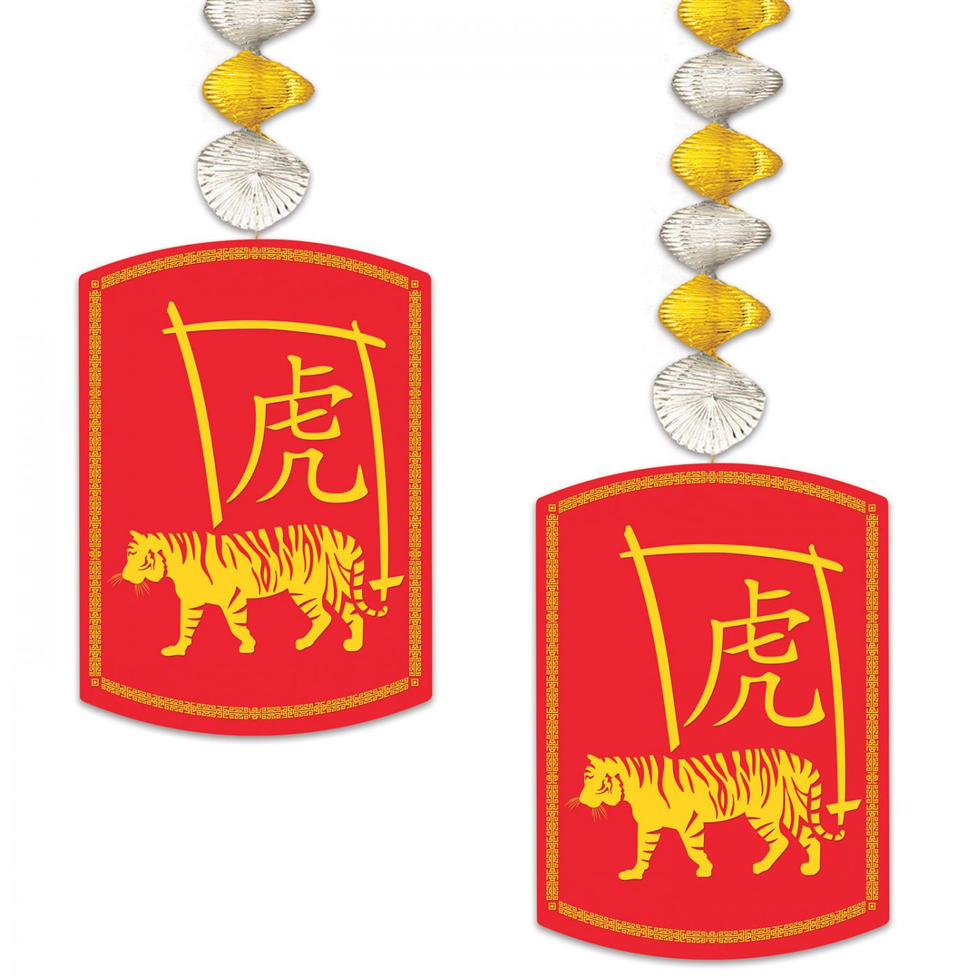 Image of 2022 Year Of The Tiger Danglers