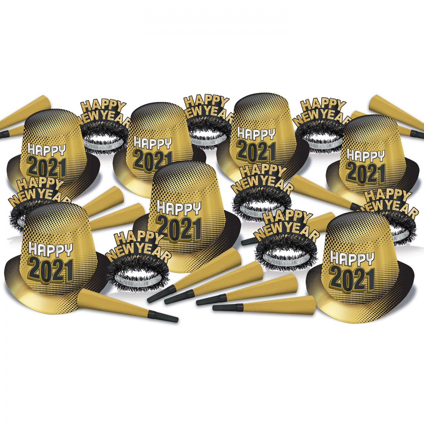 New Year  2021  Gold Asst for 50 image