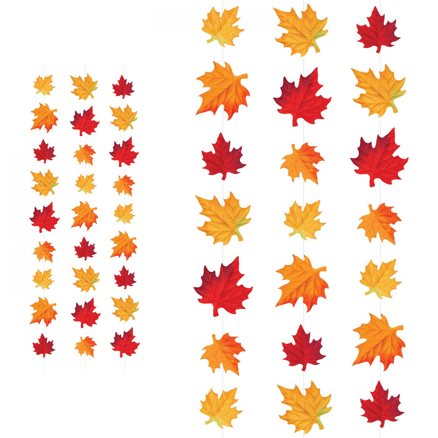 Deluxe Fabric Autumn Leaves Stringers image