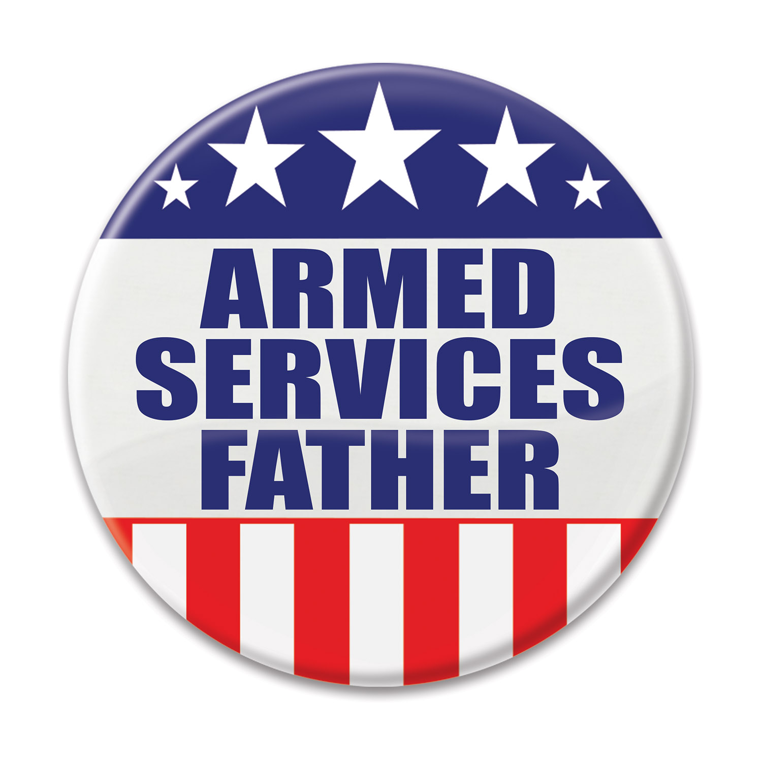 Image of ARMED SERVICES FATHER BUTTON (6)